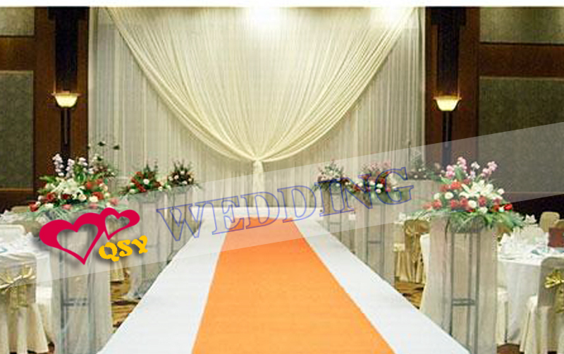 Fashion selling 3 6 m wedding decoration personalized wedding fashion selling 3 6 m wedding decoration personalized wedding fabric drape double fold wedding stage backdrop ice silk cloth in party backdrops from home junglespirit Choice Image
