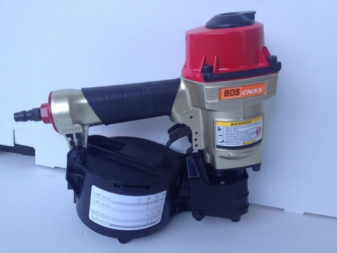 High Quality BOS CN55 Industrial Pneumatic Coil Nailer Air Coil Nail Gun Tool