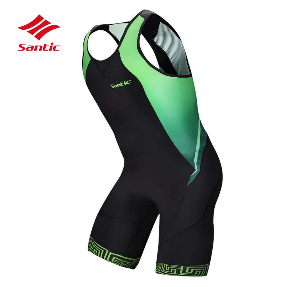 Santic Cycling Jersey Triathlon Men 2018 MTB Road Bike Bicycle Jersey Tour De France Racing Cothing Quick Dry Maillot Ciclismo