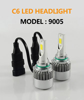 2*72W 7600LM COB H8 H9 H11 led headlights H7 9005 HB3 HB4 9006 H11 H10 H1 H3 880 LED headlight bulbs headlamp LED Car headlight
