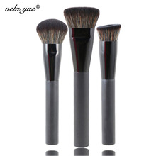 Premium 3pcs Face Makeup Brushes Set Multipurpose Face Makeup Tools Kit