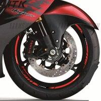 Motorcycle Sticker Thick Edge Outer Circle Sticker Wheel Sticker for SUZUKI Hayabusa GSXR1300 GSX1300R GSXR1300R