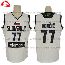 Luka Doncic Jersey slovenija U16 youth national team 77  embroidery  BASKETBALL jerseys Customize any size and name 385c7299b