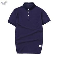 XIYOUNIAO Men Summer purity Polo Shirt Short Sleeve Slim Fit Polos Fas