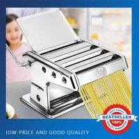 Good Quality Three Blades Pasta Making Machine Manual Noodle Maker Hand Operated Spaghetti Pasta Cutter