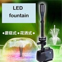 Aquarium Accessories Water Pump Fountain LED Solar Fountain Garden Artificial Outdoor Family Park Decoration Water LED Pump