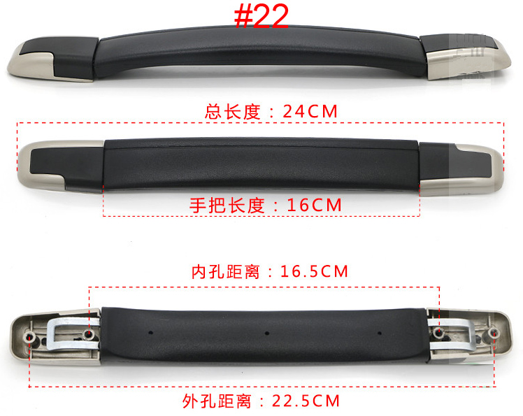 28c6eae3459 Top quality Luggage Handle Grip Spare Fix Holders Box Pull Carry Strap  Luggage Repair Accessories Replacement Suitcase 7021-22