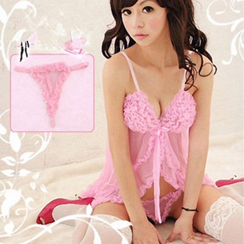 ᑎ‰4 colores sexo látex robe ropa interior sexy ropa interior ...