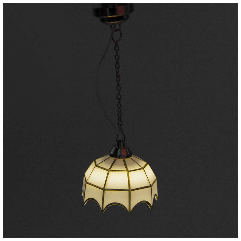 New 1:12 Dollhouse Miniature Furniture Ceiling Lamp Battery OperatedNew 1:12 Dollhouse Miniature Furniture Ceiling Lamp Battery Operated