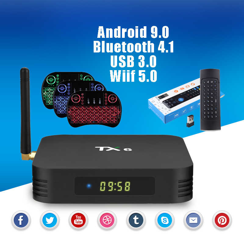 Detail Feedback Questions about TX6 Android 9 0 Bluetooth 4 1 TV Box