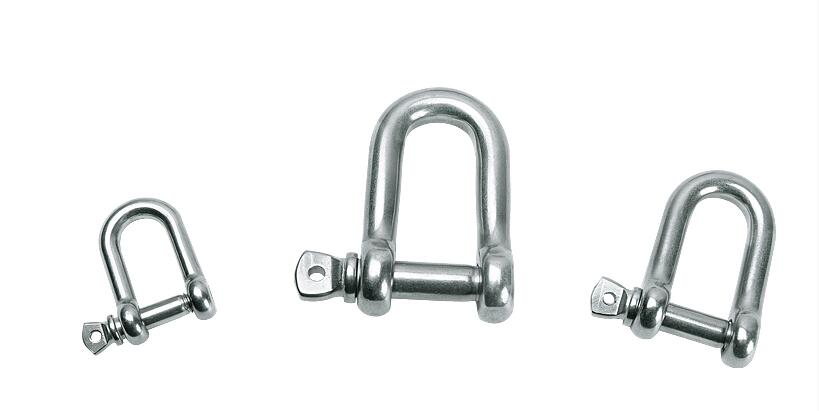 D Rigging Shackle Hooks boat rigging M4 M5 M6 M8 M10 M12 M14 M16 Straight D Shackle Short Stainless Steel Breaking hardwareD Rigging Shackle Hooks boat rigging M4 M5 M6 M8 M10 M12 M14 M16 Straight D Shackle Short Stainless Steel Breaking hardware