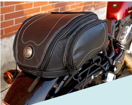 uglyBROS UBB-223パッケージ/オートバイリアバッグ/レトロパッケージオートバイリアシート/テールバッグ/パック乗馬オートバイレザーテールバッグ