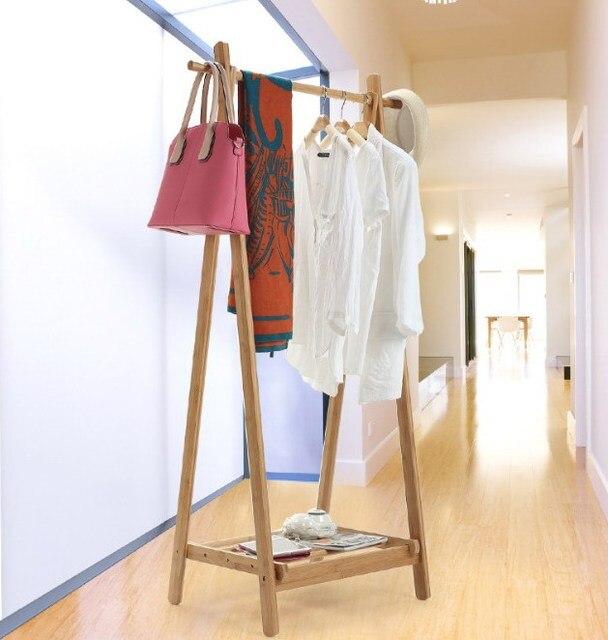 Modernes Design Bambus Schlafzimmer Wohnzimmer Mantel Rack Display ...