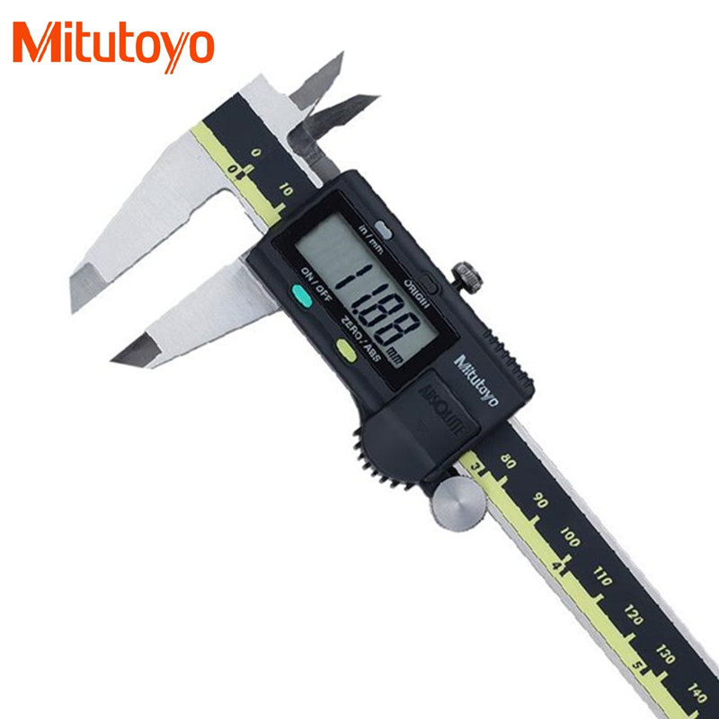 100 Real Japan Mitutoyo 0 150mm 0 01mm Electronic Digital Vernier Calipers Micrometer Gauge Measuring Tools