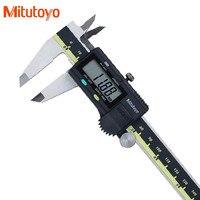 100% реальные бренд mitutoyo (Япония) 0 150 мм/0,01 мм электронный цифровой штангенциркуль микрометр измерительным инструменты