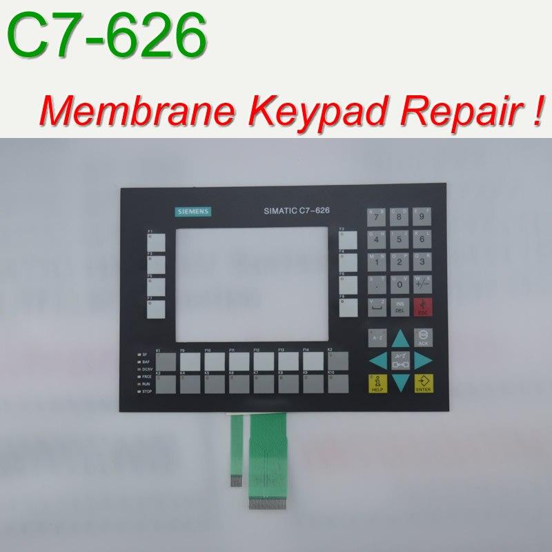 6ES7626 2CG01 0AE3 C7 626 Membrane Keypad for HMI Panel repair do it yourself Have in