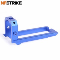 Artifact Mod Works Aluminum Alloy Slide Block for Nerf Retaliator Blue