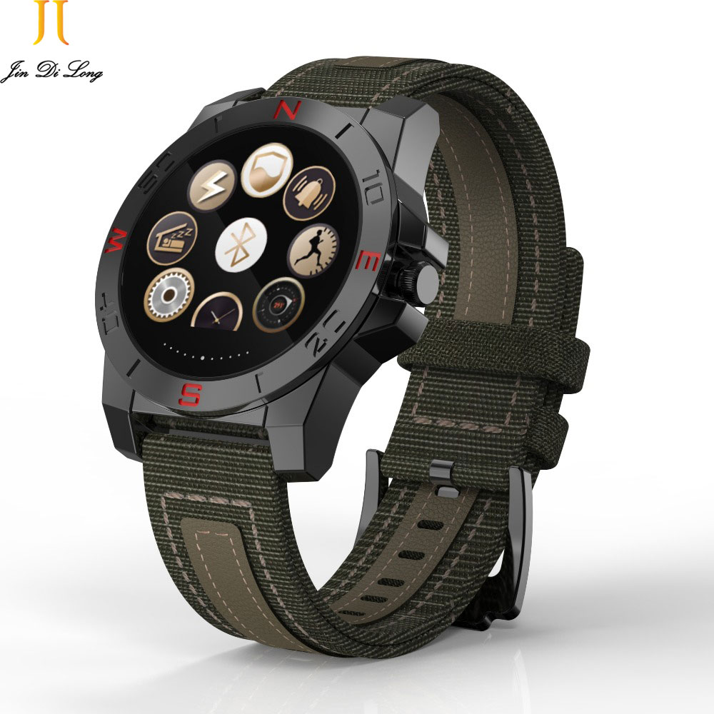 Relojes Digital Watch Outdoor climbing Pedometer Watch Sleep Heart Rate Monitor Compass Waterproof for Smart