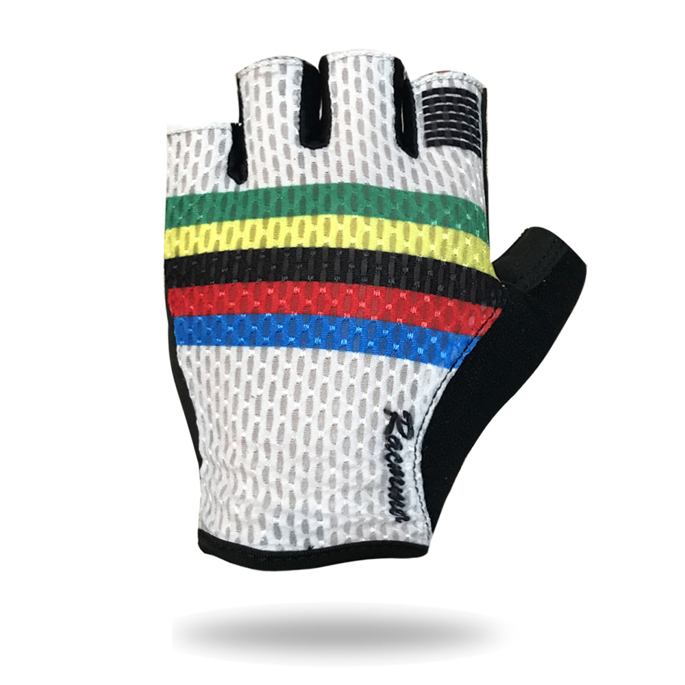 Racmmer 2019 Breathable Cycling Gloves Road Bike Gloves Men Sports Half Finger Anti Slip Bicycle MTB Road Bike Gloves #CG-01