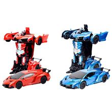 2 In 1 Kids RC Gesture Action Robots Mod