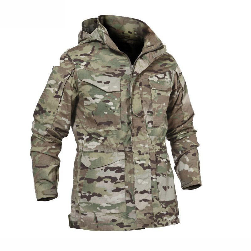 M65 military tactical windbreaker men s winter autumn jacket waterproof and wear resistant windproof mountaineering jacket