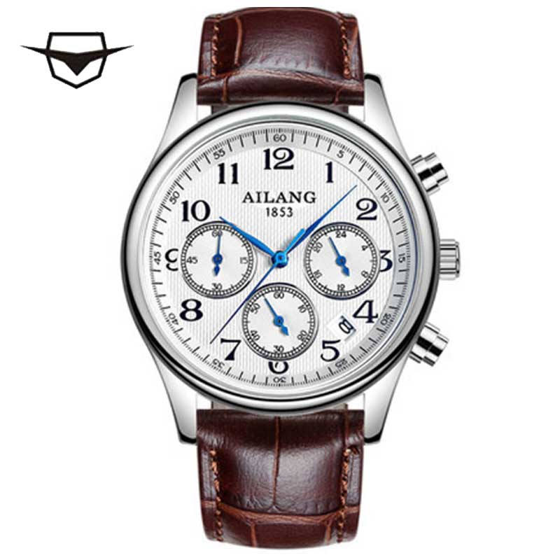 The influence of the 1853, AILANG Swiss brand limited edition watches, genuine leather belt quartz men's quartz wrist watch single sale pirate suit batman bruce wayne classic tv batcave super heroes minifigures model building blocks kids toys gifts