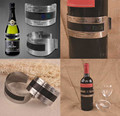 Vino de Acero inoxidable Pulsera Termómetro (4--24 'C), sensor de temperatura del vino rojo para la cerveza homebrewing fk