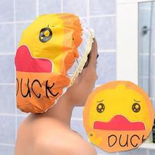 AsyPets милый мультфильм животных водонепроницаемый шапочка для душа Resuable кружева эластичная лента для ванной Волос Кепка s Hat-45