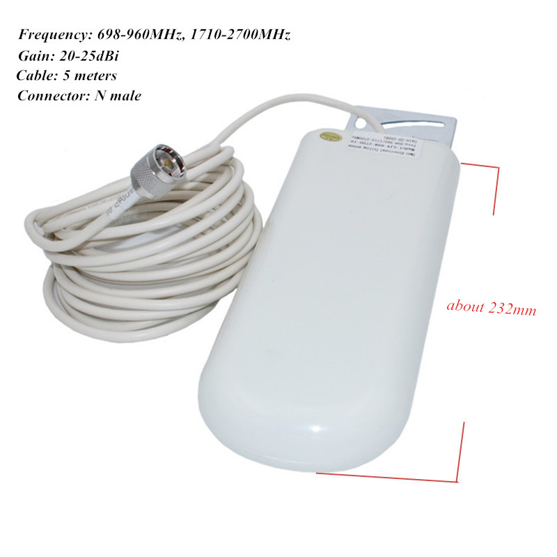 2g 3g 4g omni outdoor antenna with N male 5m cable_ (1)_1