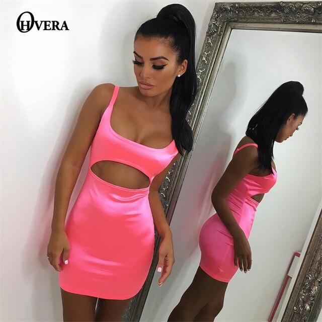 25ee1a219bd9 Ohvera Kim Kardashian Summer Dress Women Bodycon Dress 2018 Spaghetti Strap  Backless Party Mini Sexy Dresses Elegant Vestidos