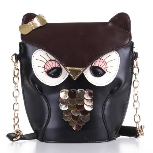 ... Handbags Women Messenger Bags FOR Girls Cartoon with Crossbody. US   11.28. (4). 5 orders. TFTP Ladies Fashion Adjustable Owl Pattern Chain Shoulder  Bag e6dfe67a6e