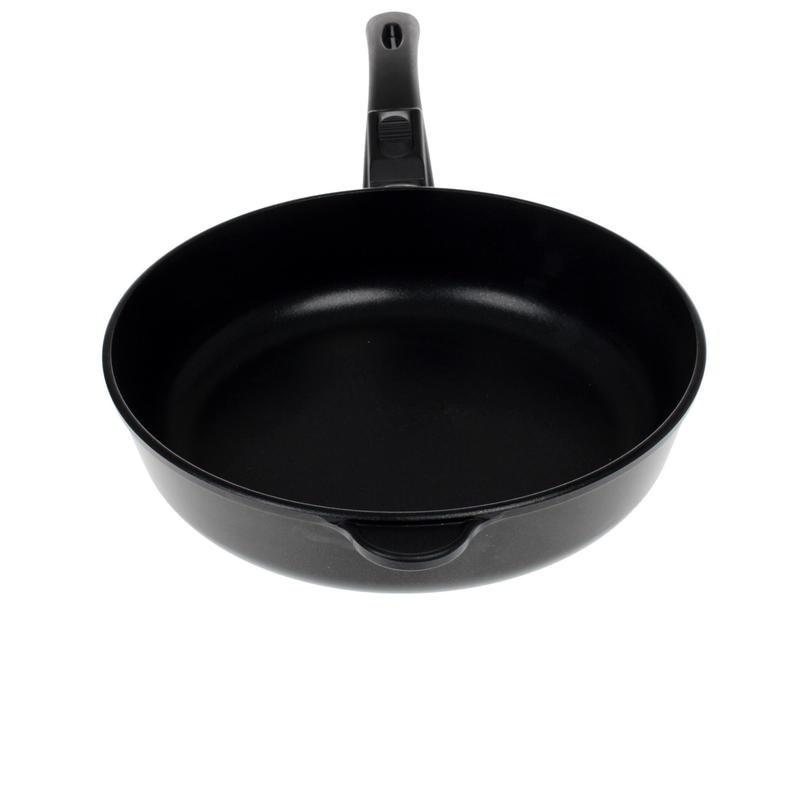 Сковорода Нева металл посуда, Титан, Особенная, 28 см сковорода блинная нева металл посуда титан особенная 22 см