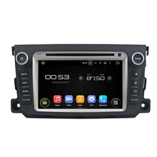 7″ Android 6.0 Octa-core Car Multimedia Player For BENZ SMART 2011-2012 GPS Navigation Car Video Audio Stereo Free MAP