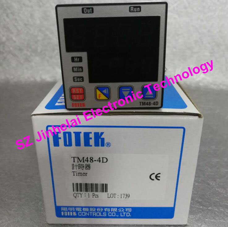цены Authentic original TM48-4D FOTEK Time relay