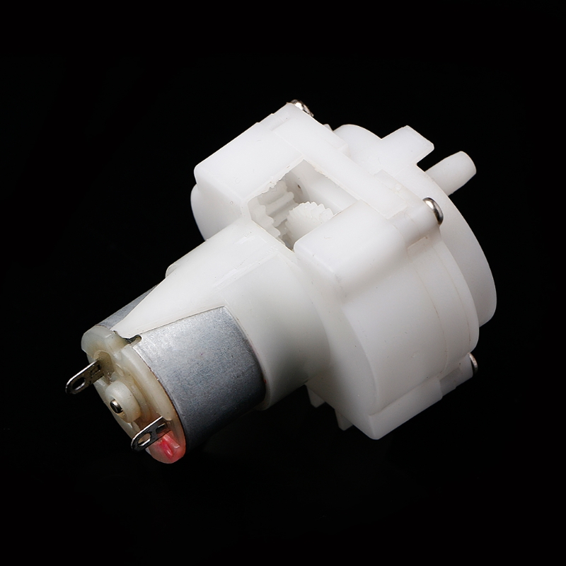 Dc 5 V Motore Della Pompa Olio Pompa Ad Ingranaggi Mini Autoadescante Pompa Acqua Con 1 M Di Tubo Di Acqua Un Arricchimento E Nutriente Per Il Fegato E Il Rene