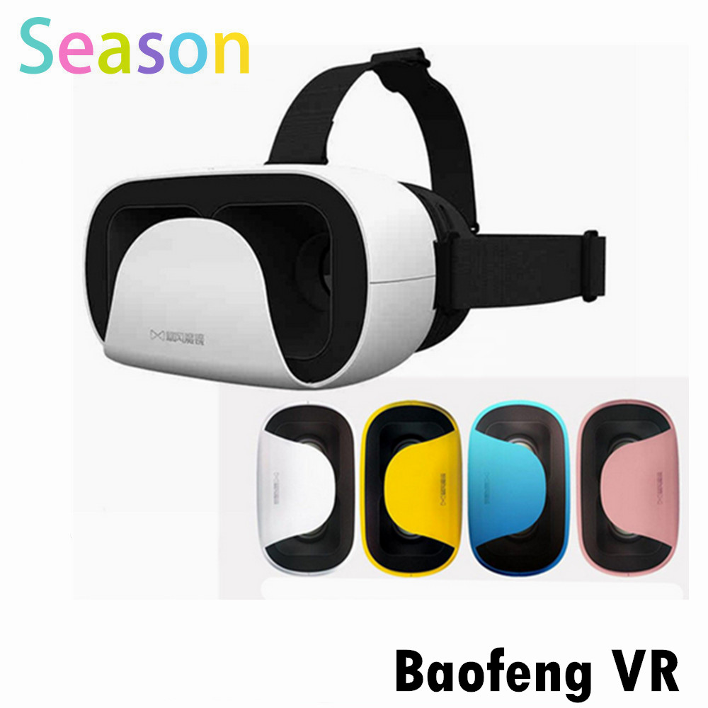 2016 Baofeng Mojing XD 3D font b VR b font Glasses Virtual Reality Helmet Cardboard Box