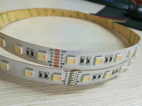 NEW 24W M RGBWW 5in1 5050 Led Strip Light DC24V Non Waterproof 60led M Indoor Outdoor