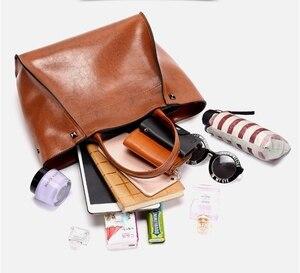Image 5 - DIDABEAR Luxury Leather Handbags Women Large Tote Bag Female Bolsas Femininas Casual Shoulder Bags Lady Smile face Messenger Bag