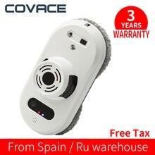 COVACE автоматический мойщик окон, робот-пылесос для окон, пульт дистанционного управления, магнитный стеклянный робот-робот в рамке, оконный робот