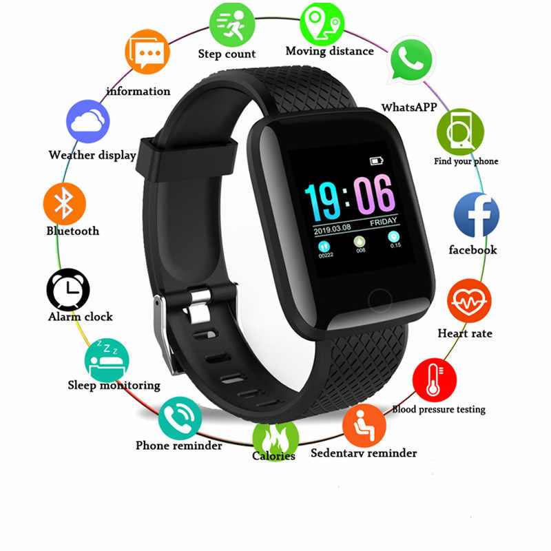 Smart Women Smart Watch Men Watchs Heart Rate Monitor Blood Pressure Fitness Bracelet Sport Smartwatch For iOS Android Band