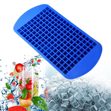TTLIFE 160 Grids Silicone Ice Cube Tray Mold Mini Ice Cube Fruit Jelly Candy Mould Ice Maker Kitchen Bar Tools  Silicone Mold cute bow tie silicone ice mold ice maker mold deep pink