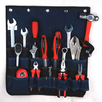 Hoomall Large Capacity Multi Functional Tool Kit Wear Resistant Oxford Cloth Blue Display Tools Package Bag