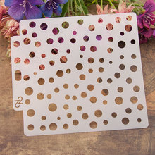 Circle Dot Sticker Painting Stencils for Diy Scrapbooking Stamps Home Decor Paper Card Template Decoration Album Crafts Art love cat heart sticker painting stencils for diy scrapbooking stamps home decor paper card template decoration album crafts art