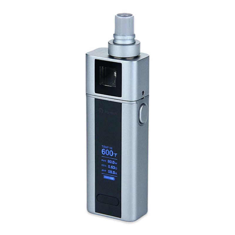 Original Joyetech Cuboid Mini Full Kit 2400mAh Built-in Battery with 5ml Cuboid Mini Tank Atomizer Electronic Cigarette Kit Grey 3 7v lithium polymer battery 584070 2400mah electronic products built