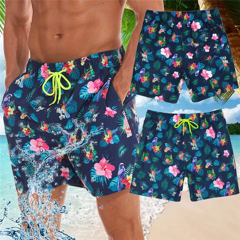 Surfing Beach   Shorts   Fast-drying Men Color   Board     Shorts   Swimming Beach   Shorts   Flower Surfboard   Shorts   Swimming Suits #2p15