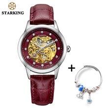 STARKING Mechanical Watch Women Bracelet Set Lady W