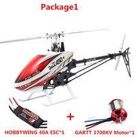 ALZRC-450 Hélicoptère Diable 450 Pro V2 FBL KIT-Argent DIY Avec Logement Et Paddle