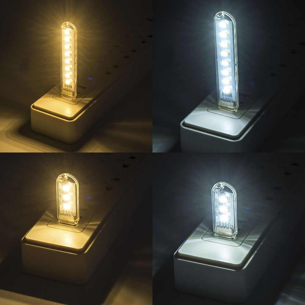 MINI LED USB Book light Ultra Bright Flexible led reading table lamp usb led for Laptop Notebook PC Computer 1Pcs New Arrival