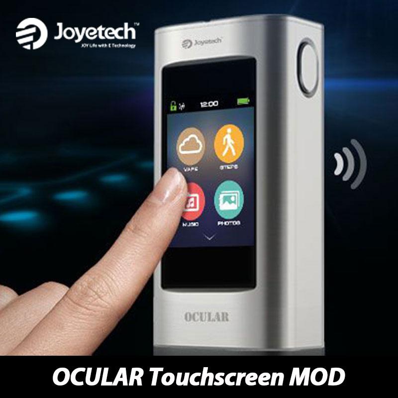 все цены на HOT! 80W Joyetech OCULAR Touchscreen TC Box MOD 5000mah Battery Electronic Cigarette 2GB Memory Ocular Mod 80w mod Vaping онлайн