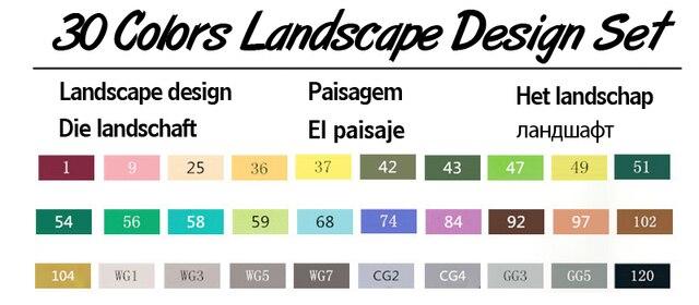 30 Landscape Set